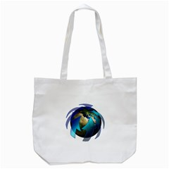 Migration Of The Peoples Escape Tote Bag (white)