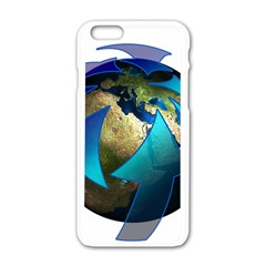 Migration Of The Peoples Escape Apple Iphone 6/6s White Enamel Case