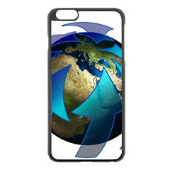 Migration Of The Peoples Escape Apple iPhone 6 Plus/6S Plus Black Enamel Case