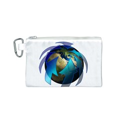 Migration Of The Peoples Escape Canvas Cosmetic Bag (s)