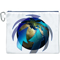 Migration Of The Peoples Escape Canvas Cosmetic Bag (xxxl)