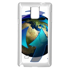 Migration Of The Peoples Escape Samsung Galaxy Note 4 Case (white)
