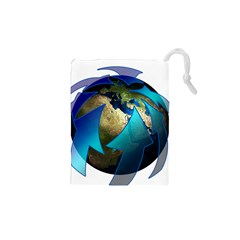 Migration Of The Peoples Escape Drawstring Pouches (xs)