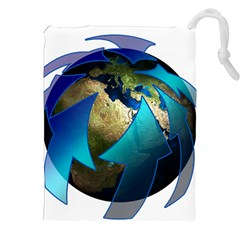 Migration Of The Peoples Escape Drawstring Pouches (xxl)