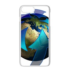 Migration Of The Peoples Escape Apple Iphone 7 Plus White Seamless Case