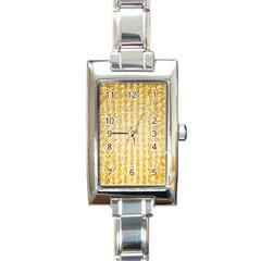 Pattern Abstract Background Rectangle Italian Charm Watch