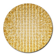Pattern Abstract Background Round Mousepads