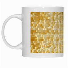 Pattern Abstract Background White Mugs