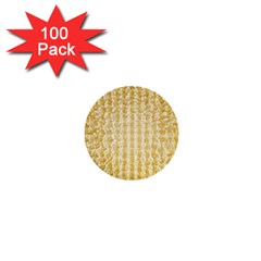 Pattern Abstract Background 1  Mini Buttons (100 Pack)