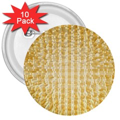 Pattern Abstract Background 3  Buttons (10 pack)