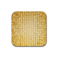 Pattern Abstract Background Rubber Square Coaster (4 Pack)
