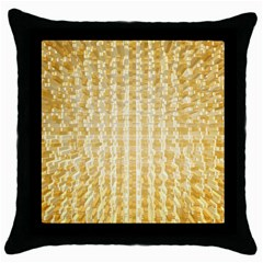 Pattern Abstract Background Throw Pillow Case (black)