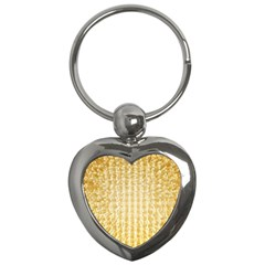 Pattern Abstract Background Key Chains (heart)