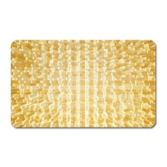 Pattern Abstract Background Magnet (rectangular)