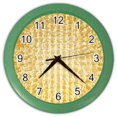 Pattern Abstract Background Color Wall Clocks