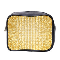 Pattern Abstract Background Mini Toiletries Bag 2 Side
