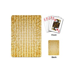 Pattern Abstract Background Playing Cards (mini)