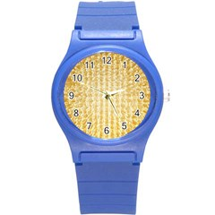 Pattern Abstract Background Round Plastic Sport Watch (s)