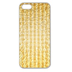 Pattern Abstract Background Apple Seamless Iphone 5 Case (clear)