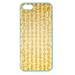 Pattern Abstract Background Apple Seamless Iphone 5 Case (color)