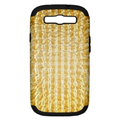 Pattern Abstract Background Samsung Galaxy S III Hardshell Case (PC+Silicone)