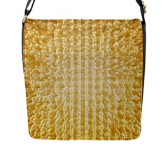 Pattern Abstract Background Flap Messenger Bag (l)