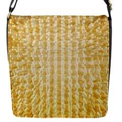 Pattern Abstract Background Flap Messenger Bag (s)