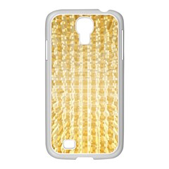 Pattern Abstract Background Samsung Galaxy S4 I9500/ I9505 Case (white)