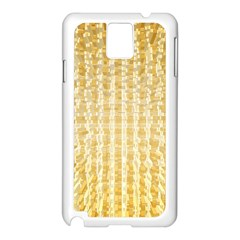 Pattern Abstract Background Samsung Galaxy Note 3 N9005 Case (white)
