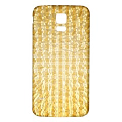 Pattern Abstract Background Samsung Galaxy S5 Back Case (white)