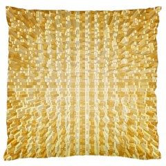 Pattern Abstract Background Large Flano Cushion Case (one Side)