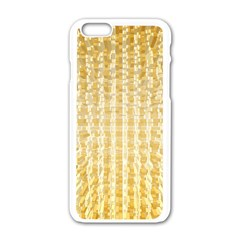Pattern Abstract Background Apple Iphone 6/6s White Enamel Case