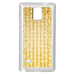 Pattern Abstract Background Samsung Galaxy Note 4 Case (white)