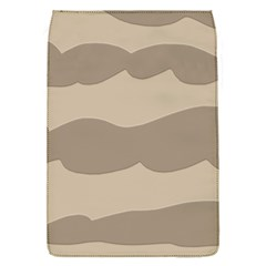 Pattern Wave Beige Brown Flap Covers (s)