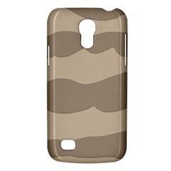Pattern Wave Beige Brown Galaxy S4 Mini