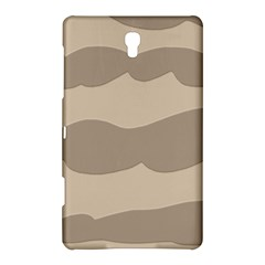 Pattern Wave Beige Brown Samsung Galaxy Tab S (8 4 ) Hardshell Case