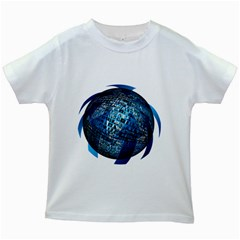 Photo Album Photo Montage About Kids White T Shirts
