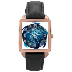 Photo Album Photo Montage About Rose Gold Leather Watch
