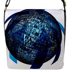 Photo Album Photo Montage About Flap Messenger Bag (s)