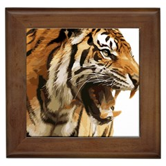 Royal Tiger National Park Framed Tiles