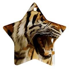 Royal Tiger National Park Ornament (star)