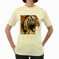 Royal Tiger National Park Women s Yellow T Shirt
