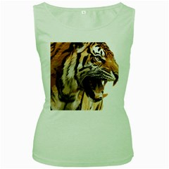 Royal Tiger National Park Women s Green Tank Top