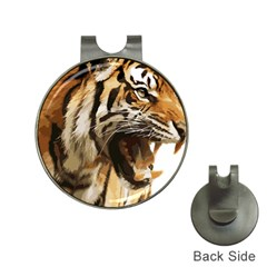 Royal Tiger National Park Hat Clips with Golf Markers