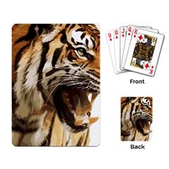 Royal Tiger National Park Playing Card
