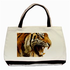 Royal Tiger National Park Basic Tote Bag (two Sides)