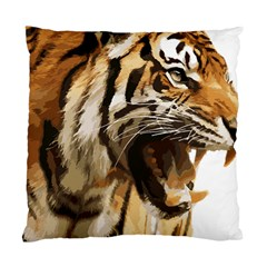 Royal Tiger National Park Standard Cushion Case (one Side)