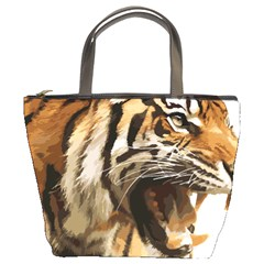 Royal Tiger National Park Bucket Bags