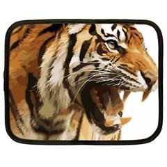Royal Tiger National Park Netbook Case (xl)