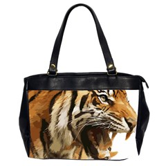 Royal Tiger National Park Office Handbags (2 Sides)